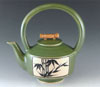 Link to ceramic bamboo teapot by Bonnie Belt
