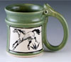 Link to ceramic horse mug by bonnie belt