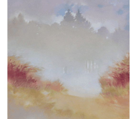 """Mist in the Clearing"" by Sherry Buckner"