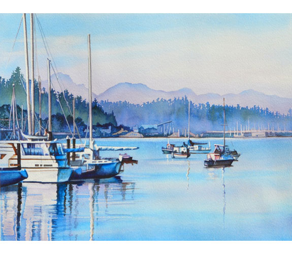 """Olympia Afternoon"" by Beverly Fotheringham"