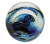 Link to Blue Planet Paperweight by Glass Eye Studio