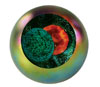Link to Solar Eclipse Paperweight by Glass Eye Studio