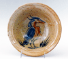 Bowl with Heron design by Frank Gosar