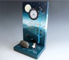 "Link to ""Blue Waltz"" Clock by Pascale Judet"