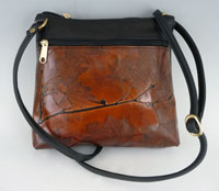 Leaf Leather bag