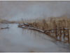 "Link to ""First Snow at Boston Harbor"" by Carla Paine"