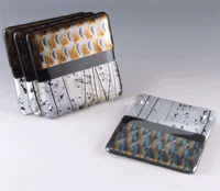 Chris Paulson fused glasscoasters