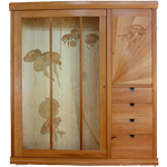 Jay T Scott jelly fishwall cabinet