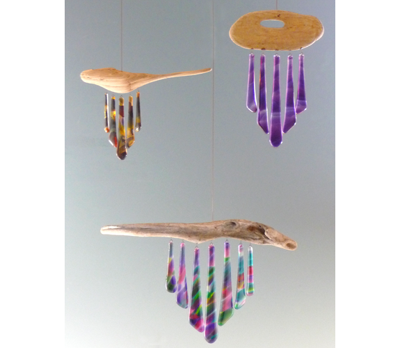 Tinkly Winkler glass windchimes